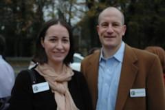 Erica Danylchak and Wright Mitchel, Executive Director and President of Buckhead Heritage Society