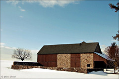 """""""Barn at Rolling Green"""" (23 Photography by Sharon Farrell) Tags: autumn winter summer snow spring seasons pennsylvania fourseasons newhope buckscounty treeoflife williampenn thecolorwhite solebury aquetong generalcharleslee revolutionarywarencampment aquetongroad rollinggreenfarm williampenngrant enochpearson paxsonfamily gravesiteofcontinentalsoldier"""