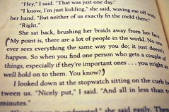 Lock&Key, Sarah Dessen (Vaaandz) Tags: sarah book key lock quote good dessen
