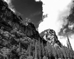 Needles... (A-Rodriguez) Tags: italien trees sky italy clouds himmel wolken olympus 420 felsen bumen e420