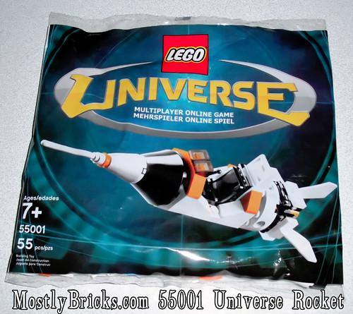 *NEW* Lego Universe 55001 ROCKET Set