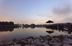 Reservoir Sunset #3 (Purple_man) Tags: blue sunset nature water landscape nikon singapore photos earth stock reservoir iso management hour environment lower cp sustainability resources cheah peirce purpleman 25600 d7000