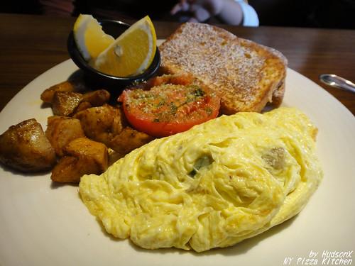 波菜蛋捲早午餐