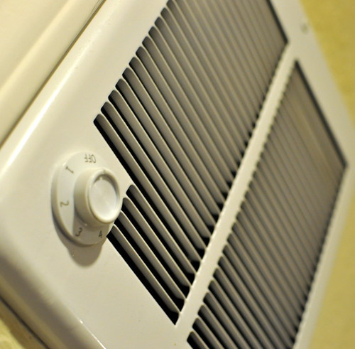 heater white vent dial