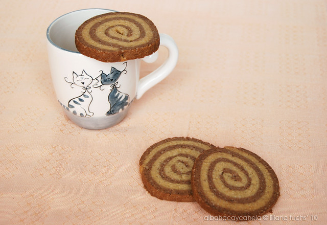 Espirales de chocolate