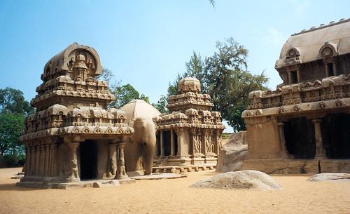 Mamallapuram – přístav sedmi pagod