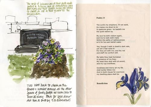 101125 My grandma's grave