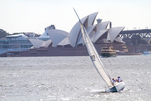 Yacht with the Opera House