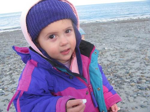 Sophie at Nantasket Beach