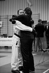 Karate Norgesmesterskap 2010 (Dmitry Valberg) Tags: woman white black cup girl oslo norway fight nikon norwegian karate gilr combat 2010 highiso norges  12800 norgesmesterskap mesterskap d3s