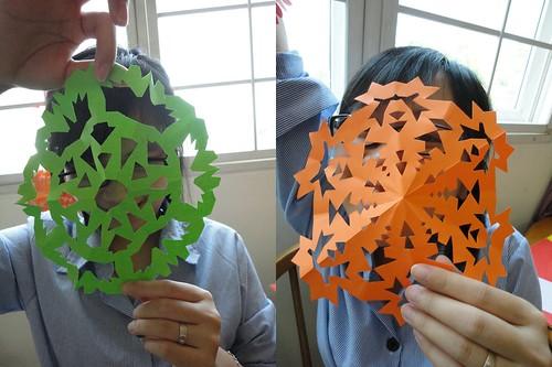 13 Paper Snowflakes