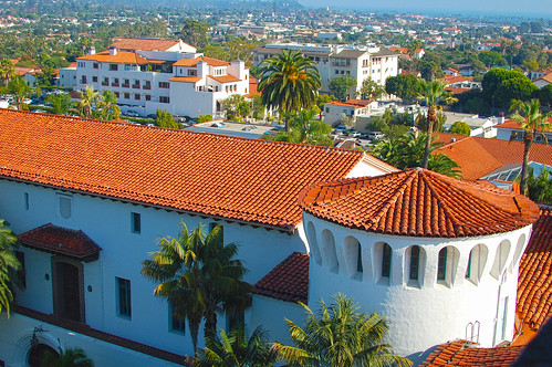 A View from the Santa Barbara Courthouse Tower