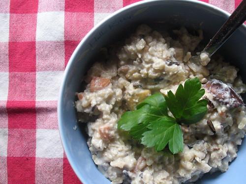 tofu wild rice casserole