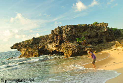 Bolinao Rock formation