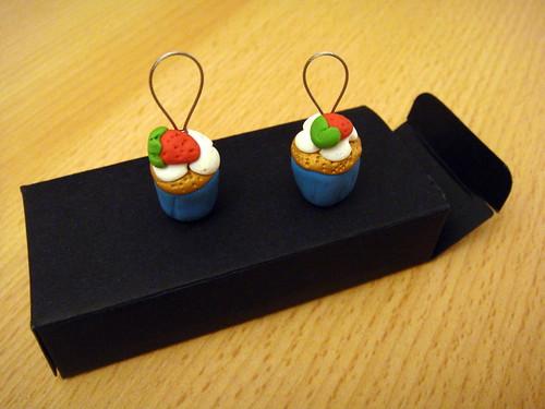 cupcakes marqueurs de mailles