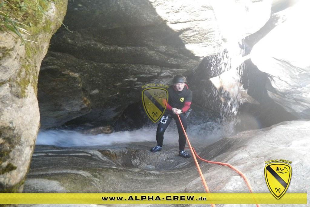 Canyoning Schluchten-Wanderung mit der Alpha-Crew