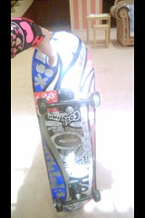 my friend's deck سكيت رفيجتي (skellington's) Tags: deck skateboard سكيت