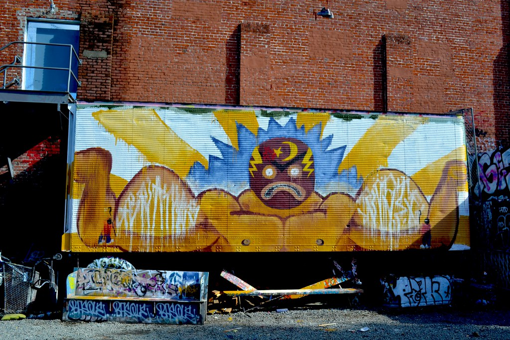 BRANES, ROSTE, Free Wall, Graffiti, Petaluma