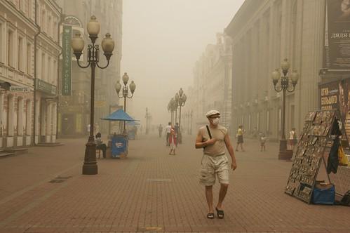 Москва (Moscow) - ул. Арбат (ulitsa Arbat)