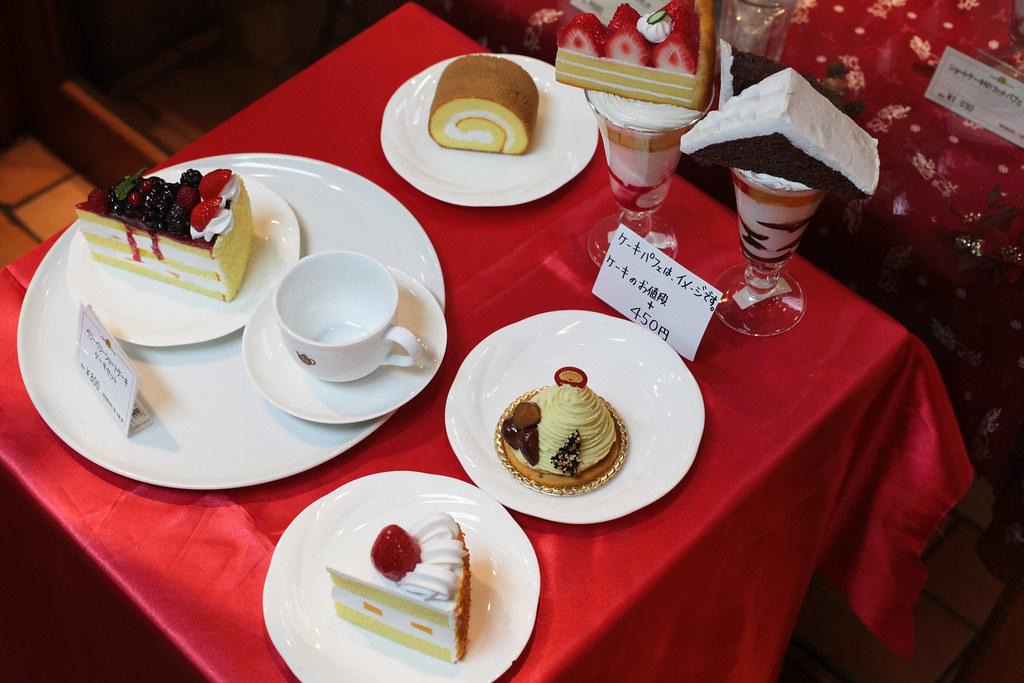 Imitated cakes