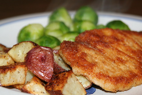 Life of Sugar and Spice: Gluten Free Mustard Breaded Porkchops