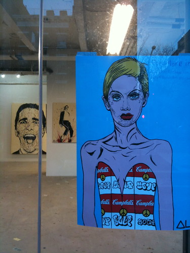 Pop-up art gallery, Chelsea
