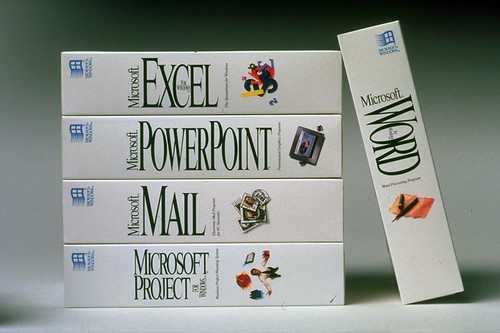 Word, Excel, PowerPoint, Mail, Project Boxshot