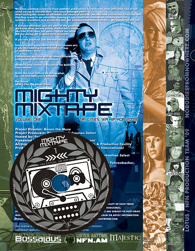 Mighty Mixtape 1 - inside cover / disc