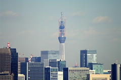 Tokyo Sky Tree (Andrew C Russell) Tags: tokyo mountfuji tokyotower moritower tokyoskytree