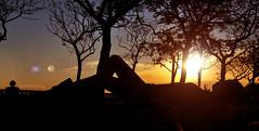 creeme, ahora se ve todo ms claro, aunque no lo parezca (boleteta) Tags: sun sol beach contraluz atardecer nikon playa silueta 1855 backlighting