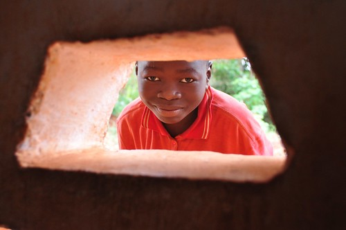 Through the school window