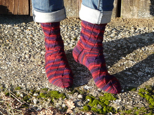 Sunday Swing Socks - Wollmeise