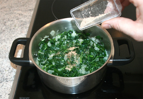 19 - Spinat würzen