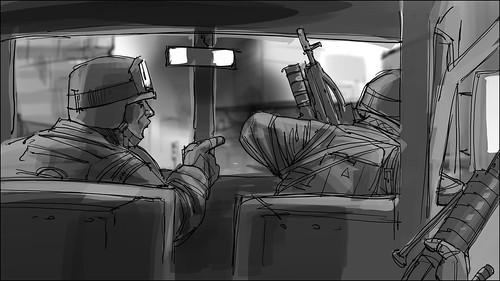 Battlefield 3 Story Board #1