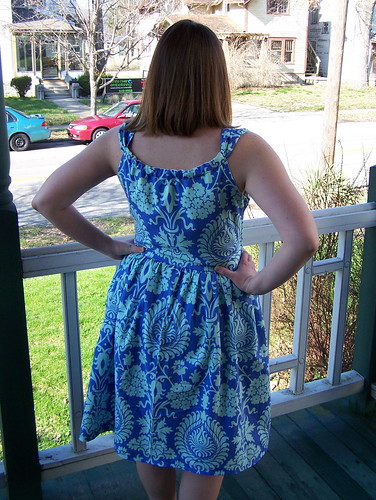 Jamie Dress, back view