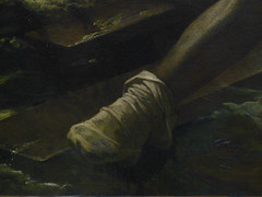 GÉRICAULT, Raft of the Medusa with Detail of Stocking