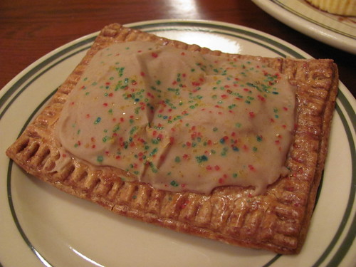 house made apple pop tart