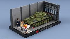 Article 64992 in tank museum (2che_4life) Tags: ldd lego blender mecabricks tank soviet wot