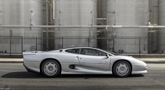 1993 Jaguar XJ220 (Desert-Motors Automotive Photography) Tags: jaguar xj220 pinnacle pinnacleportfolio rmsothebys v6tt v6 twinturbo turbo
