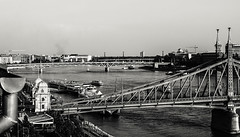 bridges (szlavid) Tags: bp budapest nikon d7000 nikkor 50mm 18g building city urban hungary bridge duna river