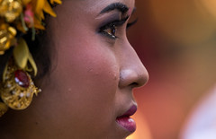 A teenage girl in traditional costume crying before a tooth filing ceremony, Bali island, Canggu, Indonesia (Eric Lafforgue) Tags: asia asian bali bali2398 balinese beliefs canggu ceremony closeup clothing colorimage customs emotion filing headshot hindu hinduism horizontal indigenouspeople indonesia indonesian indonesianculture mesangih oneperson onewomanonly outdoors realpeople rite rites ritual sideview spiritual tears toothfiling tradition traveldestination women baliisland