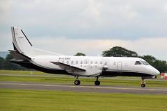 G-LGNU SAAB SF340B (douglasbuick) Tags: aircraft saab sf340 glgnu loganair prop plane taxiing egpf glasgow airport aviation scotland flickr airliner airlines airways nikon d3100