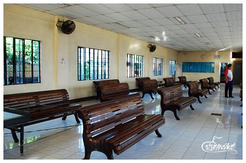 boarding area