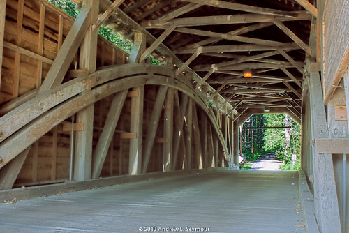Gibson-Harmony Hill Covered Bridge - HDR 001