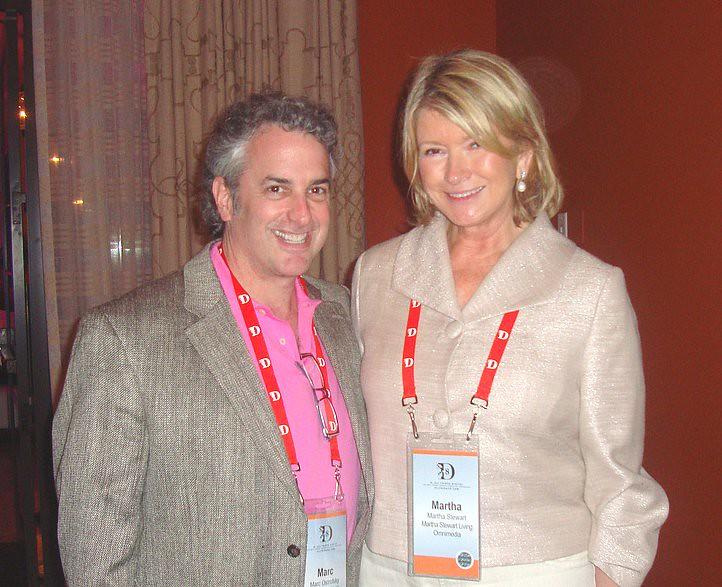 Martha Stewart and Marc Ostrofsky