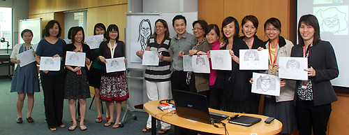 Caricature Workshop for AIA Tampines - Day 3 - 19