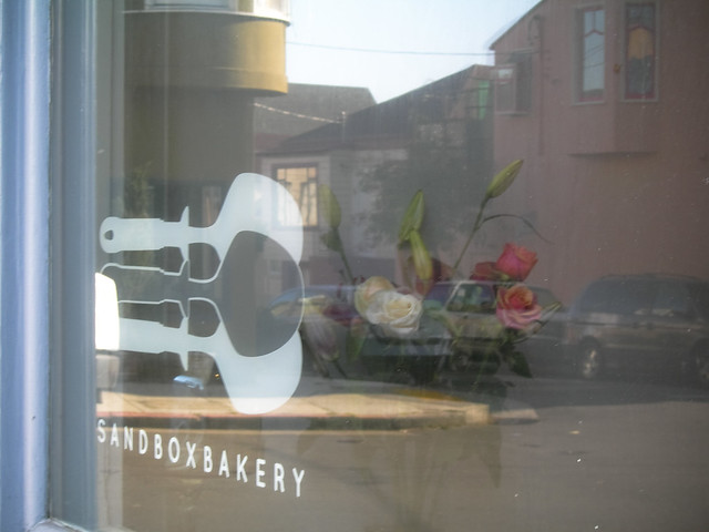 Sandbox is a phenomenal bakery, located in Bernal Heights, SF on Cortland St.