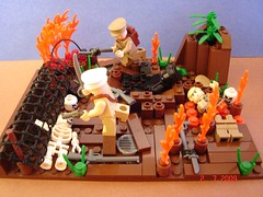 Assault At All Costs! (Colonel Ghostman) Tags: world 1 wire war all lego wwi attack assault soldiers costs barbed figures gunfire i