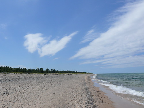Clouds over Lake Superior at Vermillion