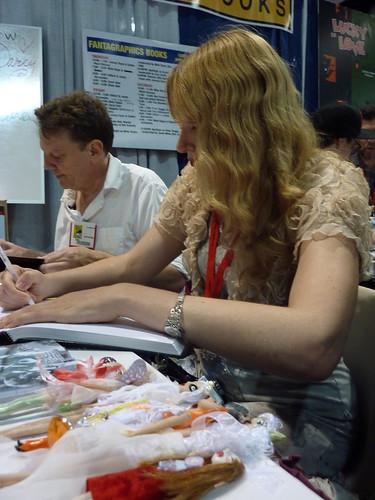 Tony Millionaire & Dame Darcy - Fantagraphics at Comic-Con 2010